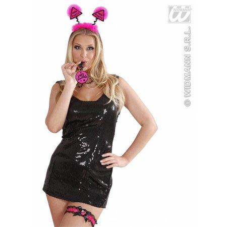 Ketting met fluitje partygirl