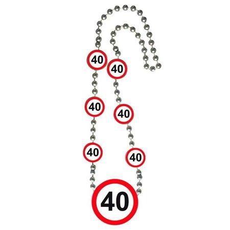 40 Jaar Verkeersbord Ketting