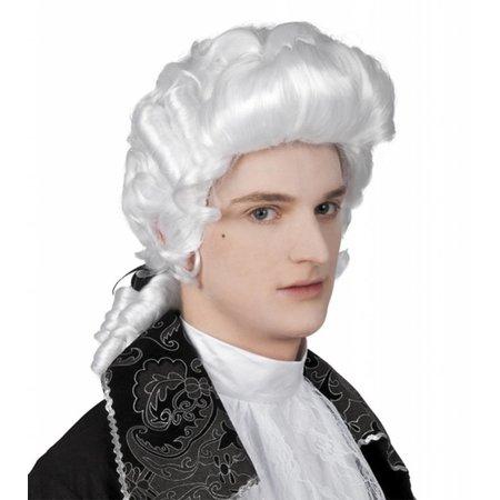 Pruik barok man Lodewijk