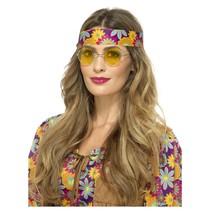 Hippiebril geel