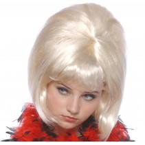 Pruik sixties blond