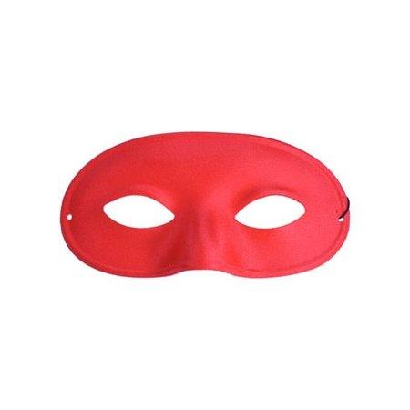 Oogmasker loup rood