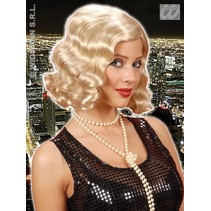Pruik Roaring 20s blond