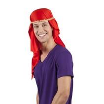 Sjeik hoed rood
