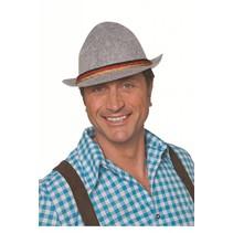 Tiroler hoed met 3 koordjes