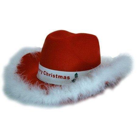 Cowboyhoed vilt kerst