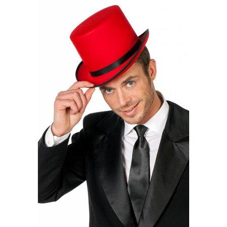 Hoge hoed rood