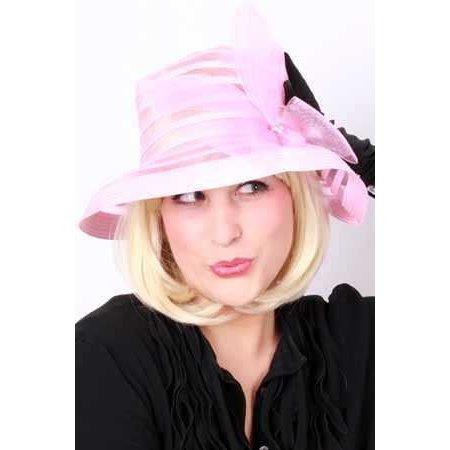 Dameshoed potmodel pink