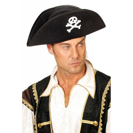 Hoed piraat luxe Cody