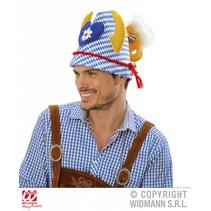 Hoed Oktoberfest Beierse print