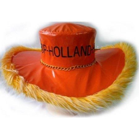 Hoed met boa hup Holland