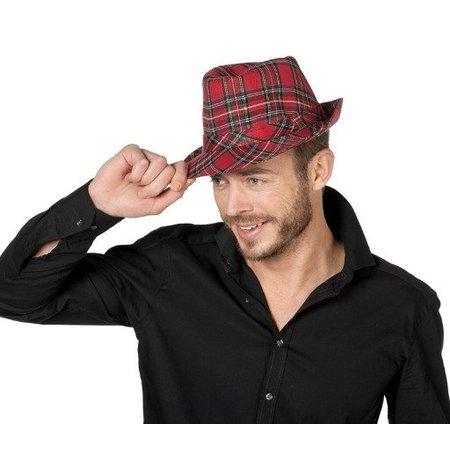 Hoed Schotse ruiten