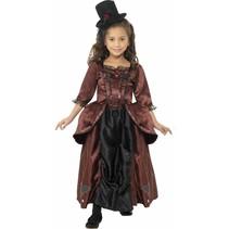 Vampier jurkje met hoed kind
