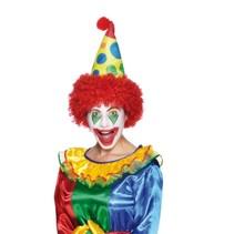 Clownshoed met pruik