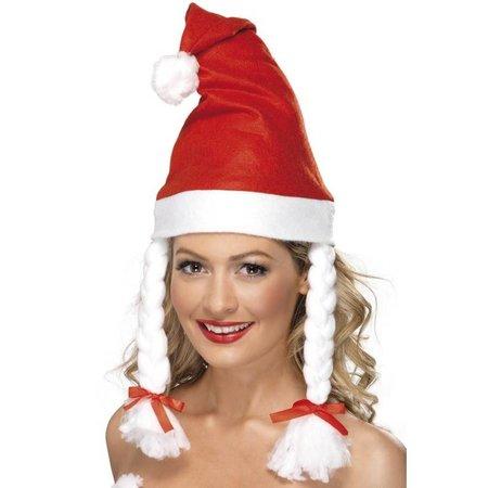 Kerst hoed vlechten
