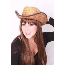 Stro Cowboy hoed