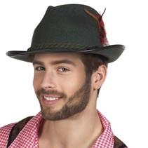 Tiroler hoed vilt Walter groen