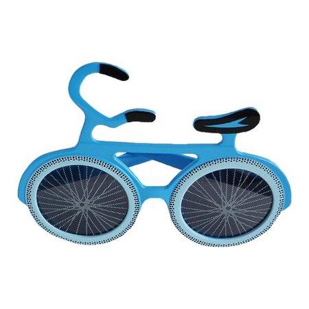 Funbril fiets blauw
