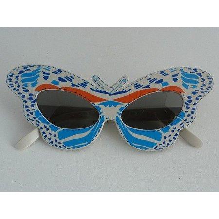Funbril vlinder