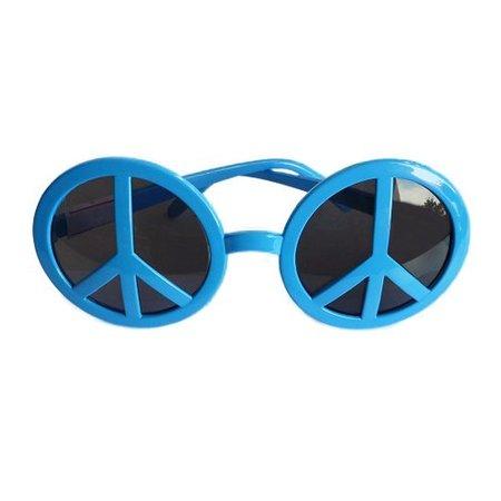 Funbril Peace blauw