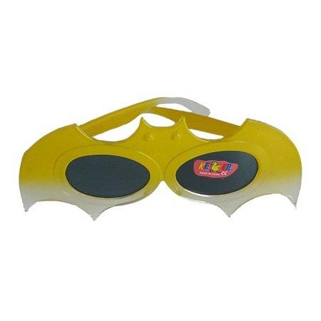 Funbril kind vleermuis geel