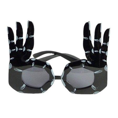 Funbril handen zwart