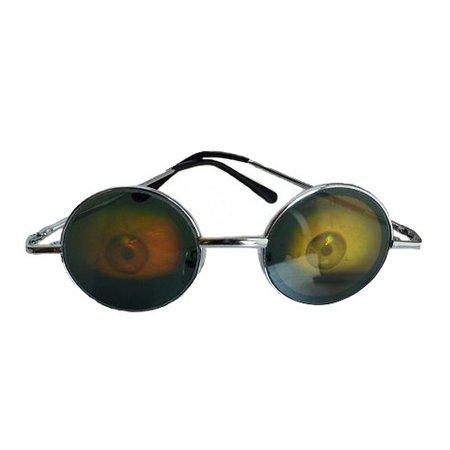 Funbril oog