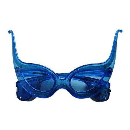 Funbril verlichting cat blauw