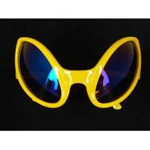 Funbril Alien geel