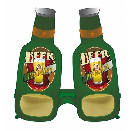 Feestbril bierflesje