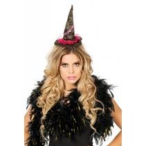 Haarband met Halloweenhoed