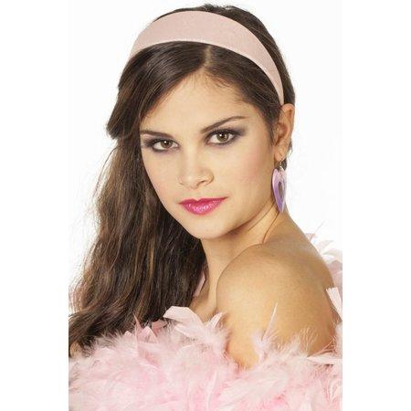 Haarband glitter roze