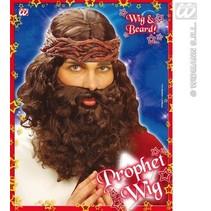 Pruik profeet met baard