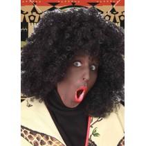 Afro pruik Big Cedric