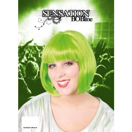 Pruik bobline sensation fluor groen