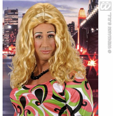Pruik Barbie girl