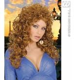 Krulpruik beauty bruin