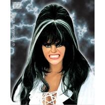Pruik Elvira