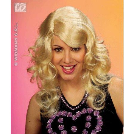 Pruik Brandy blond