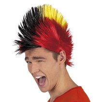 Pruik Punk Hanekam Belgie