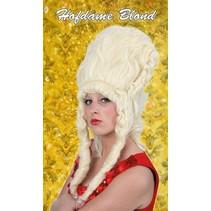 Pruik Hofdame blond