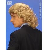 Pruik Frankie blond
