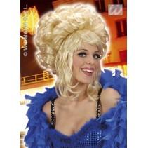 Pruik Patricia blond