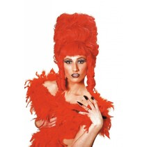 Peggy krullenbol rood