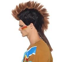 Indiaanse mannenpruik