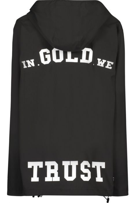 In Gold We Trust In Gold We Trust Logo Pullover Jack