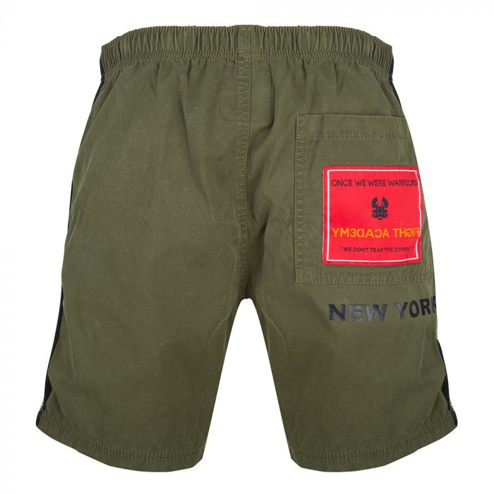 Once We Were Warriors OWWW Lax Woven Short