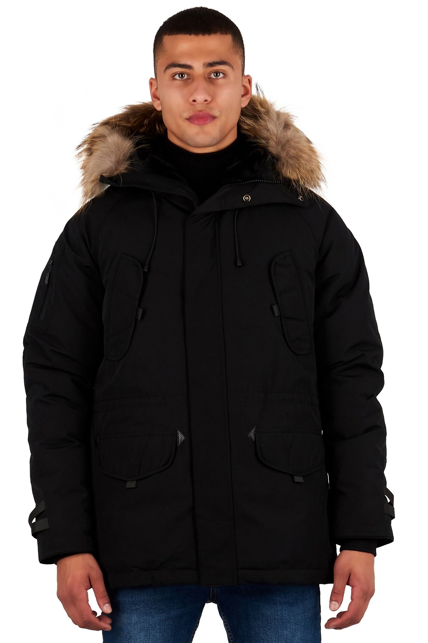 Helvetica Helvetica Expedition Parka