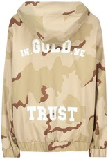 In Gold We Trust In Gold We Trust Camo Bomber Jacket