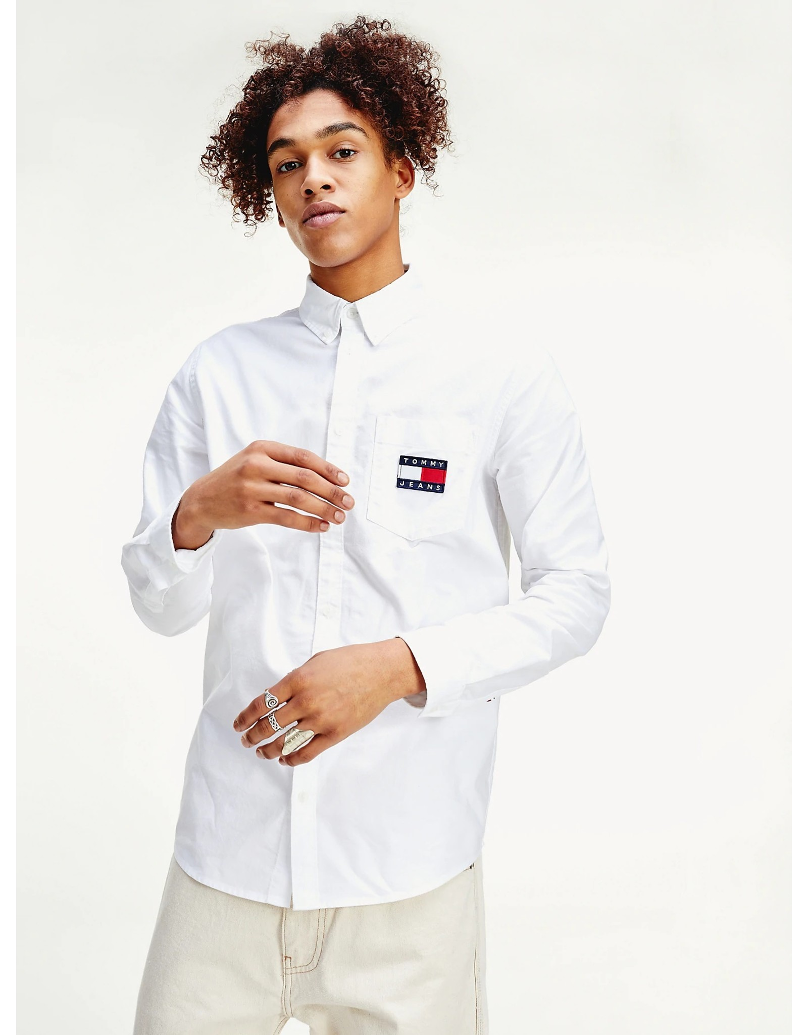 Tommy Jeans Tommy Jeans Oxford Badge Shirt